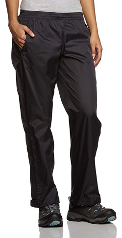 8. Helly Hansen Women's Loke Waterproof Breathable Rain Pants
