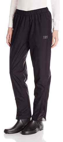 5. Helly Hansen Women's Seven J Waterproof Breathable Rain Pant