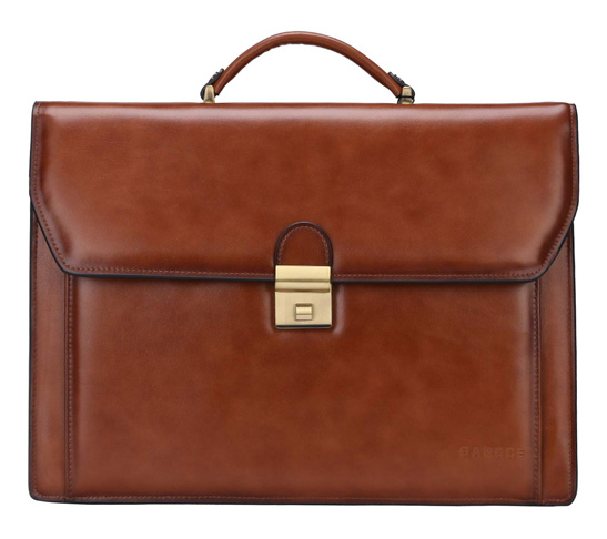 8. Banuce Genuine Leather Briefcase