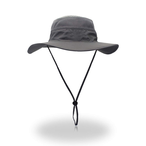 5. Duakrs Unisex Wide Brim Sun Hat - Preferred
