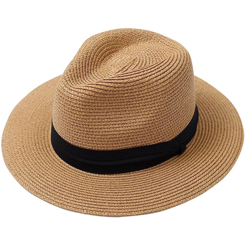8. Lanzom Men Wide Brim Foldable Summer Beach Sun Hat