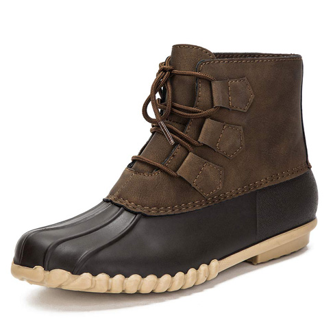 5. DKSUKO Women's Duck Boots -Preferred