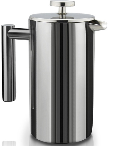 2. Sterling Pro Double-Wall Stainless Steel Coffee/Tea Maker