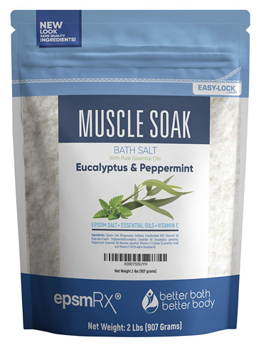 8. Better Bath Better Body 32 Ounces Epsom Salt (Muscle Soak Bath)