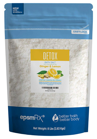 5. Better Bath Better Body Detox Bath Salt 128 Ounces Epsom Salt - Preferred