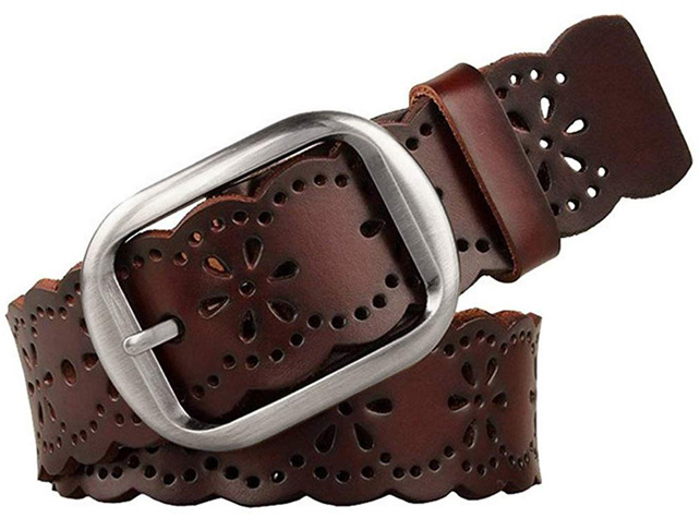 4. JASGOOD Women's Hollow Belt