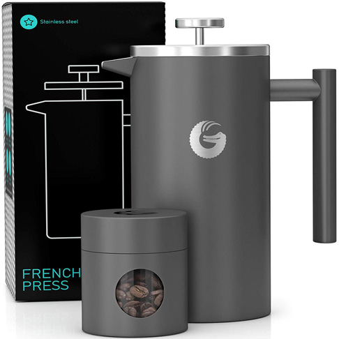 3. Coffee Gator 34 Ounce French Press Coffee Maker