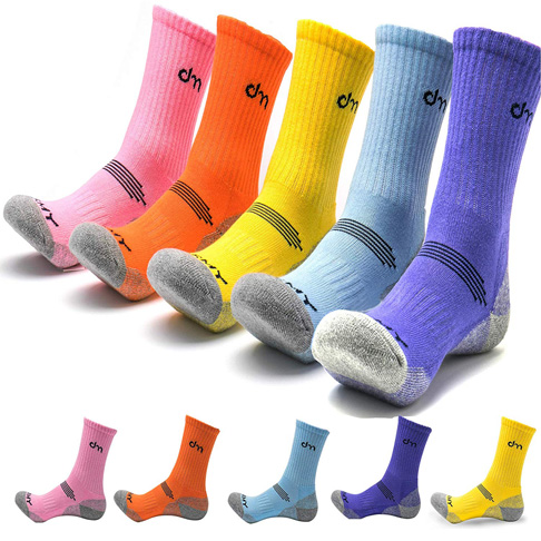 8. DearMy 5Pack Women's Trekking Crew Socks -Preferred