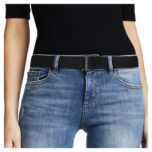 7. JASGOOD No Show Women Stretch Belt -Preferred