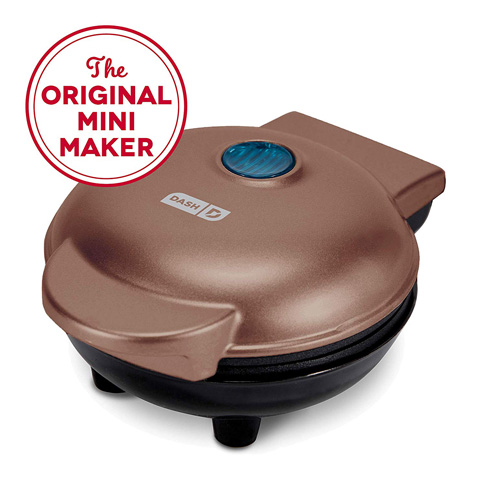 1. Dash DMW001CU Mini Waffles Maker Iron -Preferred