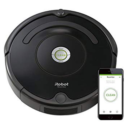 3. iRobot Roomba 675 Robot Vacuum-Wi-Fi-Connectivity
