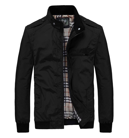 9. RongYue Men's Casual Lightweight Jacket