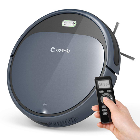 7. Coredy Robot Vacuum Cleaner - Preferred