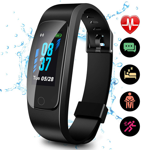 1. SKYGRAND Updated 2020 Version High-End Fitness Tracker HR
