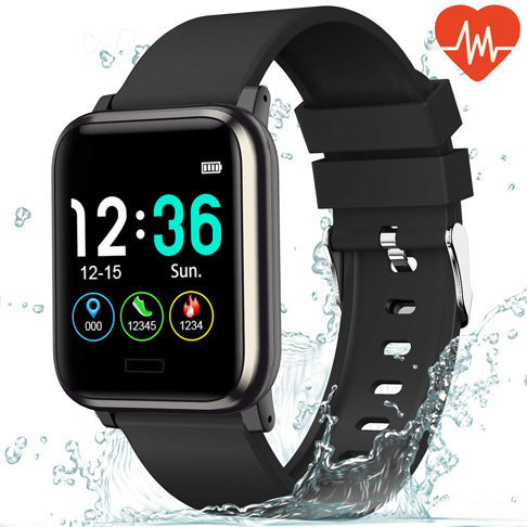 8. L8star Fitness Tracker Heart Rate Monitor