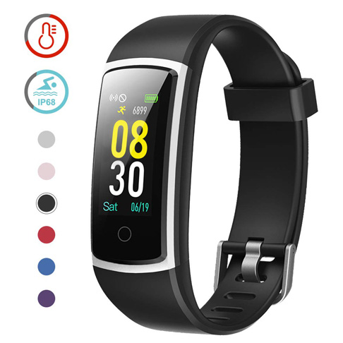 7. YAMAY Fitness Tracker with Blood Pressure Monitor Heart Rate Monitor