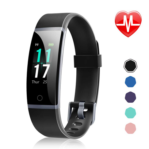 6. Letsfit Activity Tracker Watch with Heart Rate Monitor - Preferred