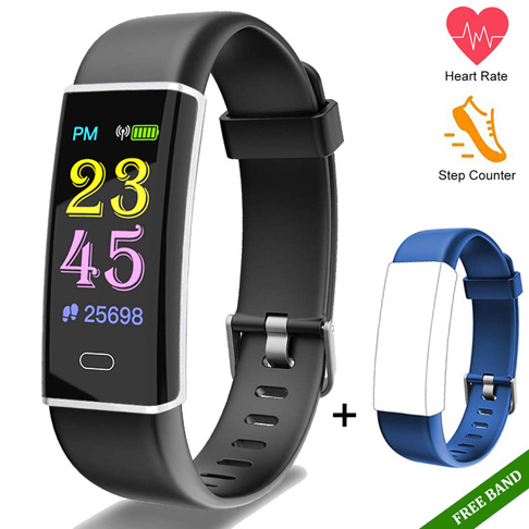9. Anzhikang Fitness Tracker Health Exercise Watch - Preferred
