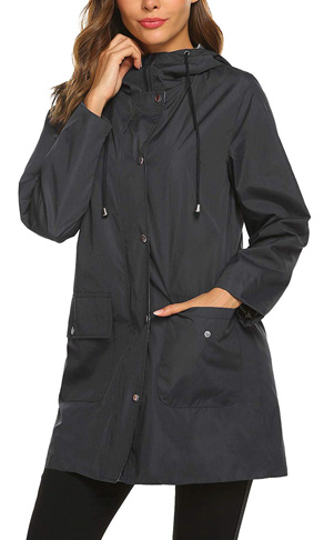 10. SUNAELIA Raincoat Women