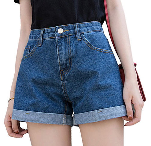 8. Romastory Women's Vintage Denim Shorts