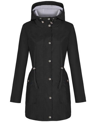 8. Bloggerlove Rain Jacket Women
