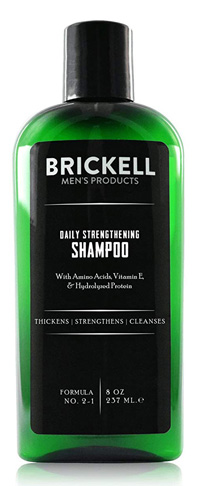 8. Brickell Men's Products Shampoo for Men