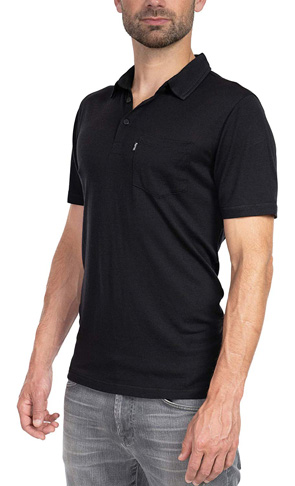 8. Woolly Clothing Men's Wool Polo Shirt