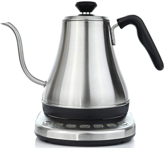 4. Willow & Everett Electric Gooseneck Kettle with Temperature Presets - Preferred