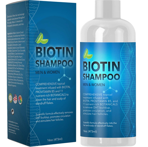 3. Maple Holistics Biotin Shampoo for Hair Growth and Volume -Preferred