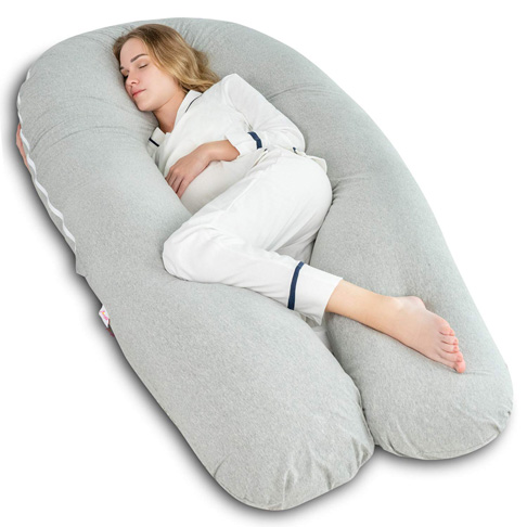 7. AngQi 65-inch Full Body Support Pillow