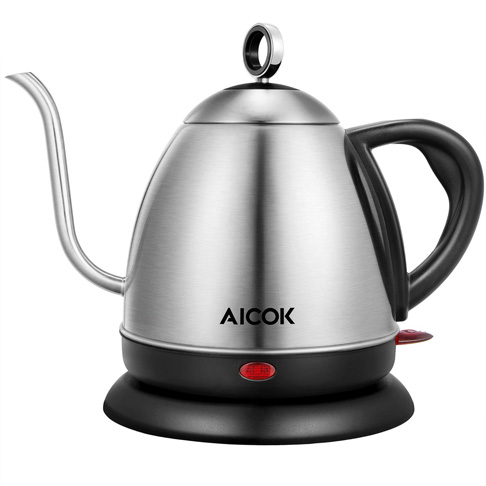 8. AICOK 1L Pour Over Kettle for Coffee or Tea