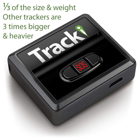 1. Tracki 2020 Model Mini Real time GPS Tracker - Preferred