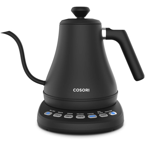 5. COSORI Electric Gooseneck Kettle with 5 Variable Presets - Preferred