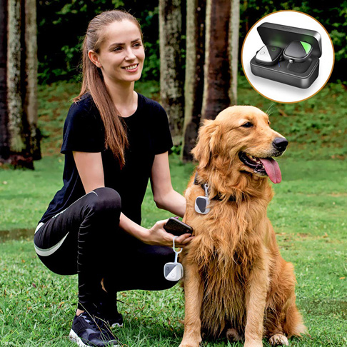 7. PETFON Pet GPS Tracker for Dogs Cats - Preferred