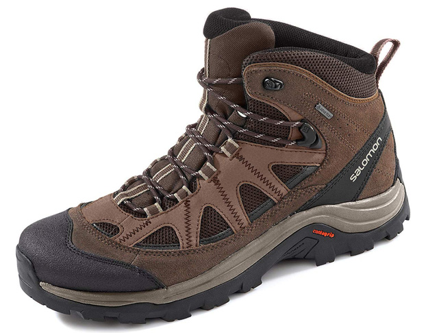 9. Salomon Men's Authentic LTR GTX Backpacking Boots - Preferred