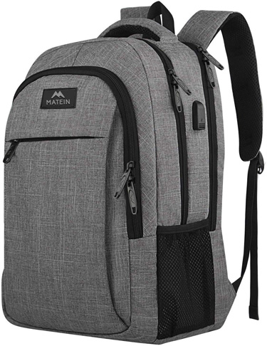 1. MATEIN Travel Laptop Backpack -Preferred