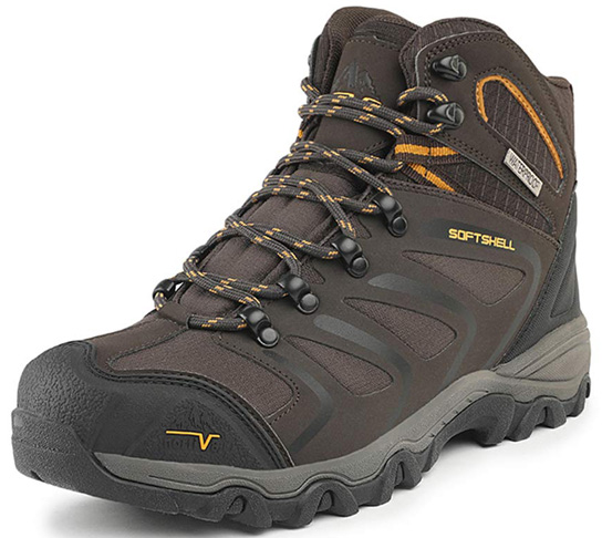 5. NORTIV 8 Men's Ankle High Waterproof Hiking Boots