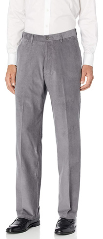 7. Haggar Men's Corduroy Classic Fit Waistband Pant