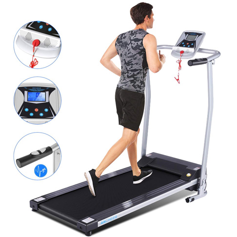 7. ANCHEER Upgraded Treadmills for Home, Silver