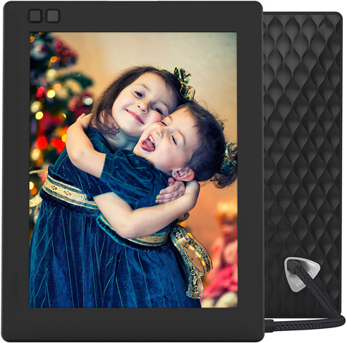 1. Nixplay Seed Digital WiFi Picture Frame 8 Inch