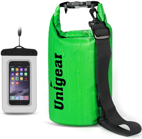 2. Unigear Waterproof Dry Bag -Preferred
