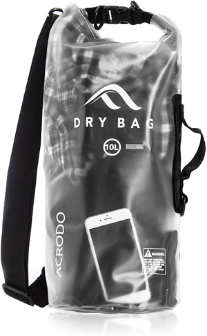 5. Acrodo Waterproof Dry Bag