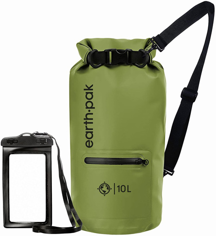 4. Earth Pak Dry Bag -Preferred