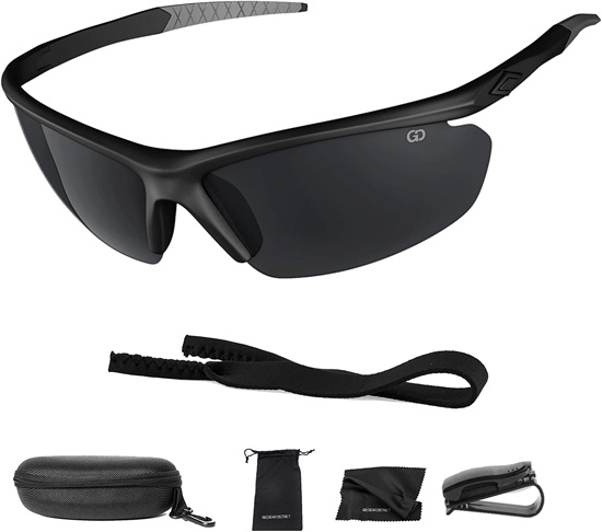8. Gear District Polarized Sunglasses for Driving