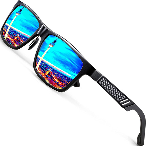 5. ATTCL Men's Retro Driving Polarized Sunglasses