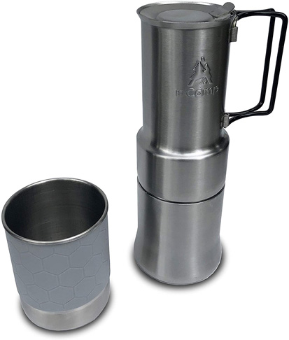 8. nCamp Portable Camping Coffee Maker