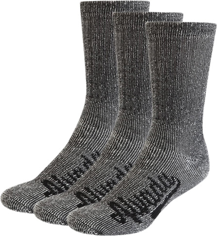 2. Alvada 80% Merino Wool 3 Pairs Hiking Socks for Men & Women