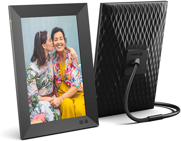 4. Nixplay Smart Digital Picture Frame 10.1 Inch -Preferred