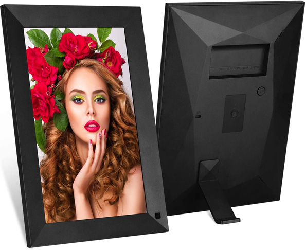 8. MRQ New 10 Inch WiFi Digital Picture Frame