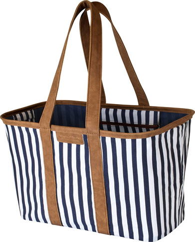 3. CleverMade 30L SnapBasket Collapsible Grocery Shopping Bag - Preferred